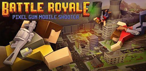 Pixel Gun Mobile Shooter. Image: Google Play.