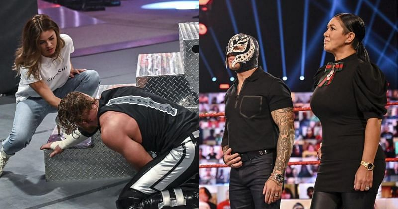 WWE dropped a big teaser on RAW.