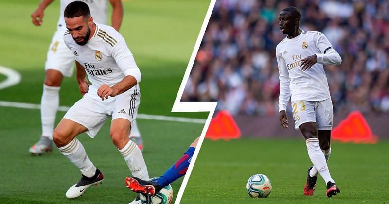 Dani Carvajal (left) and Ferland Mendy (right) could form a deadly full-back combination in the future.