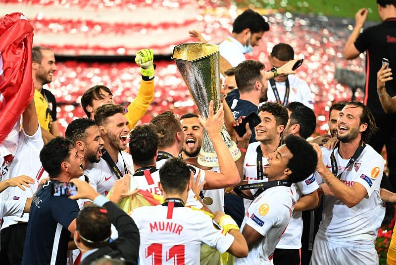 Sevilla are serial winners of the Europa League