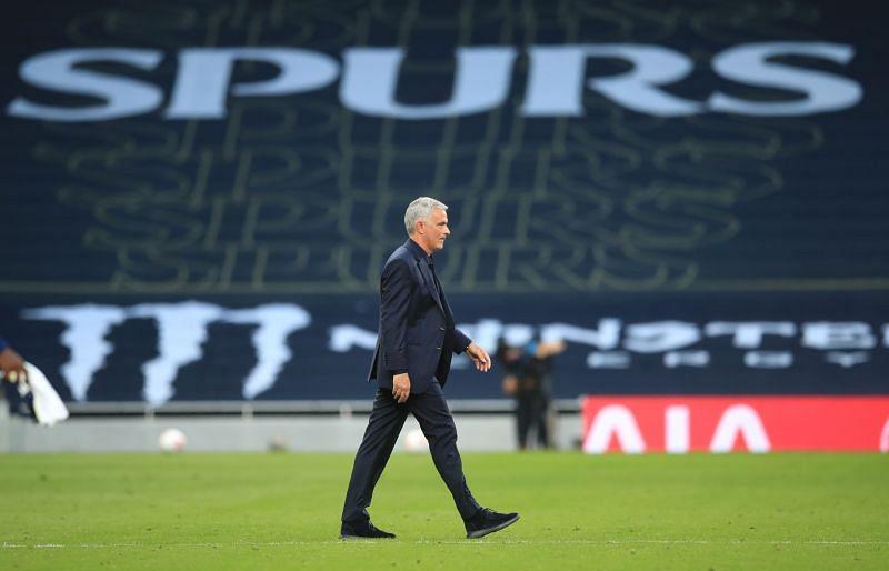 Mourinho has complained about Spurs
