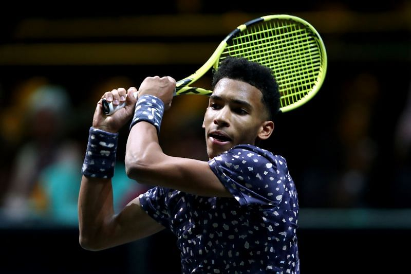 Auger-Aliassime once watched Andy Murray as a kid from the stands