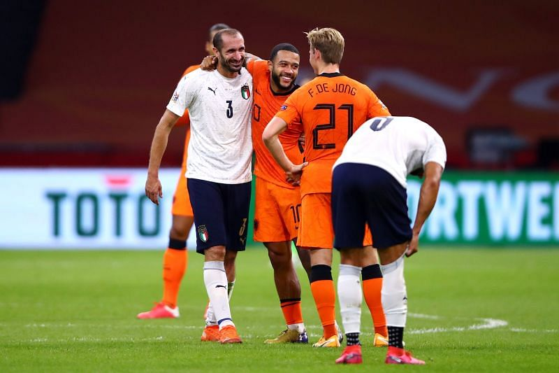 Depay struggled against Italy last night