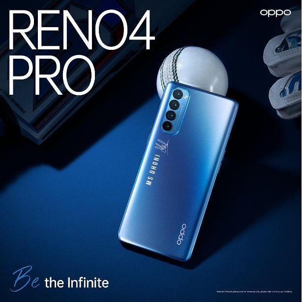 Reno4 Pro Galactic Blue Edition