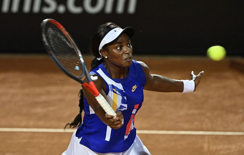 Sloane Stephens is one of the two Grand Slam winners in this half