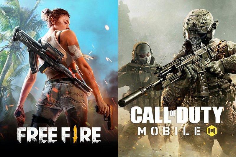 Free Fire vs COD Mobile (Image credits: Techtudo)