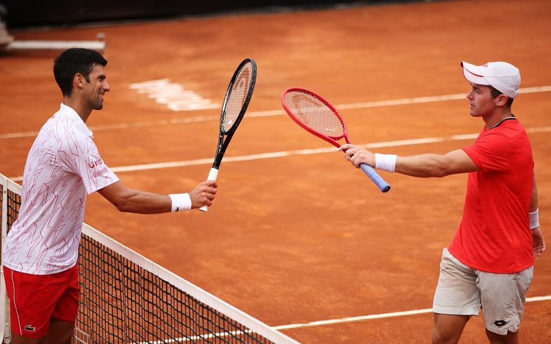 Dominik Koepfer made it to the quarter-final of the Italian Open last week