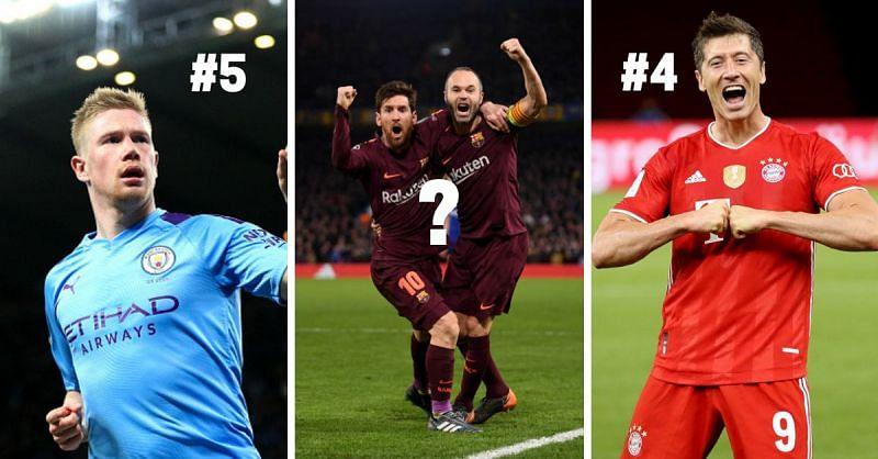 Pep Guardiola has managed some incredible players like De Bruyne, Messi, Lewandowski and Iniesta