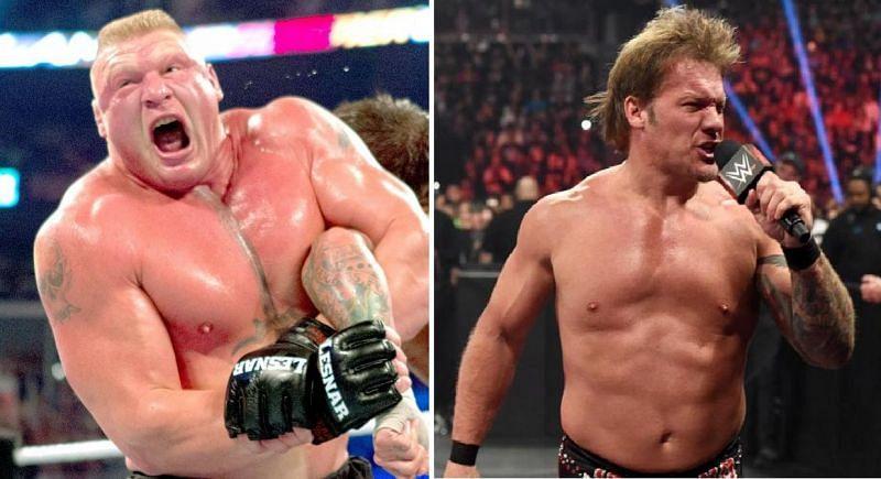 Brock Lesnar and Chris Jericho
