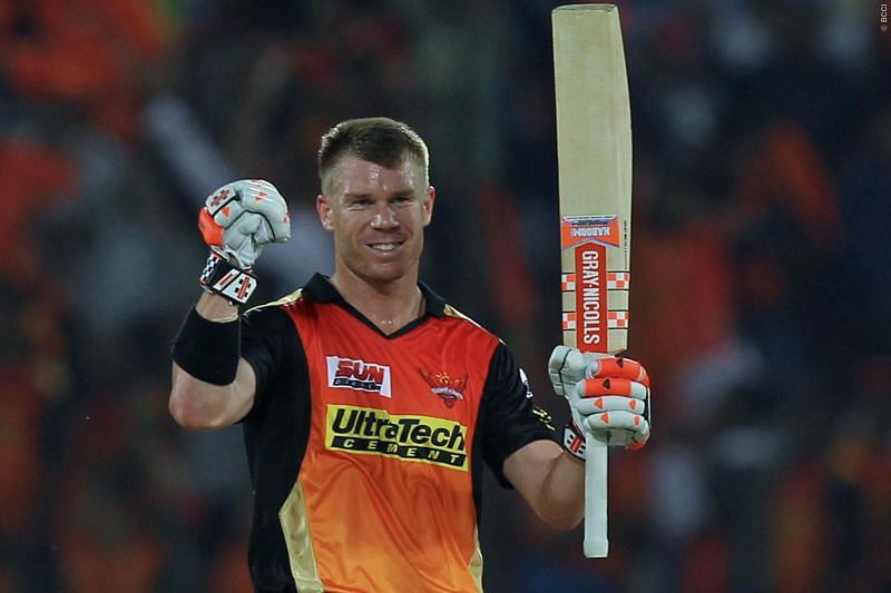 SRH skipper Warner looks ahead to the upcoming IPL season (Picture credit: iplt20.com)