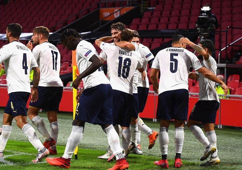 Italy picked up their first win in the 2020-21 UEFA Nations League