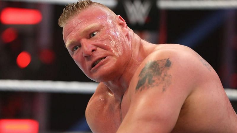 Brock Lesnar is currently unsigned and this isn