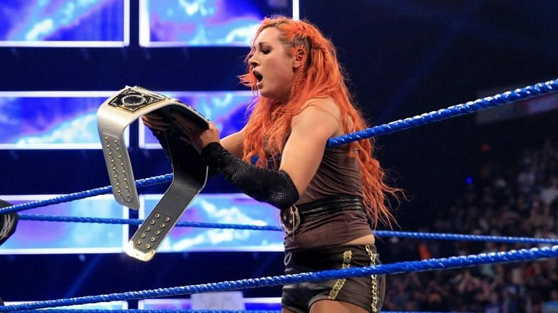 Becky Lynch was the first to win the SmackDown Women