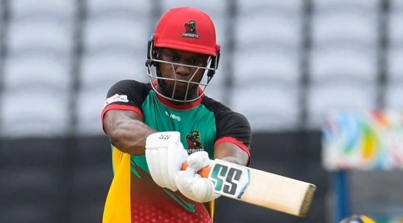 Evin Lewis must come good if the Patriots have any chance of winning their upcoming CPL match