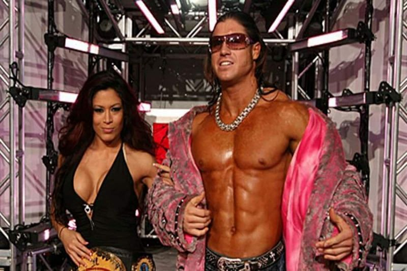 Melina and John Morrison dated for more than a decade