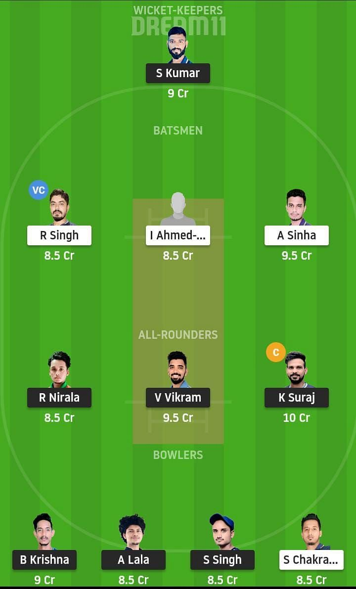 SIN vs DUM Dream11 Team Prediction