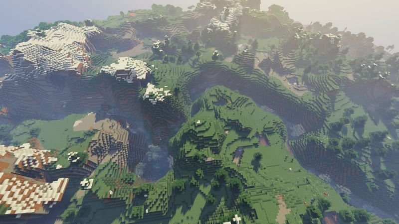 River Valleys (Image credits: Minecraft-seeds.com)