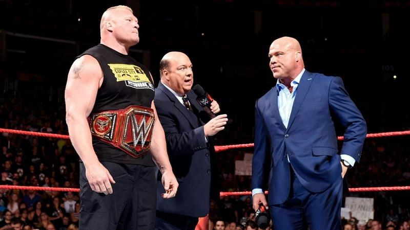 Kurt Angle has shared his opinions on Brock Lesnar