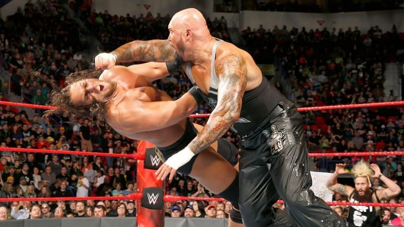 Luke Gallows and Big Cass feuded in 2016-17