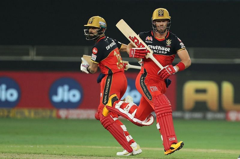 Kohli and ABD rack up some IPL Fantasy points this match. (Image Credits: IPLT20.com)