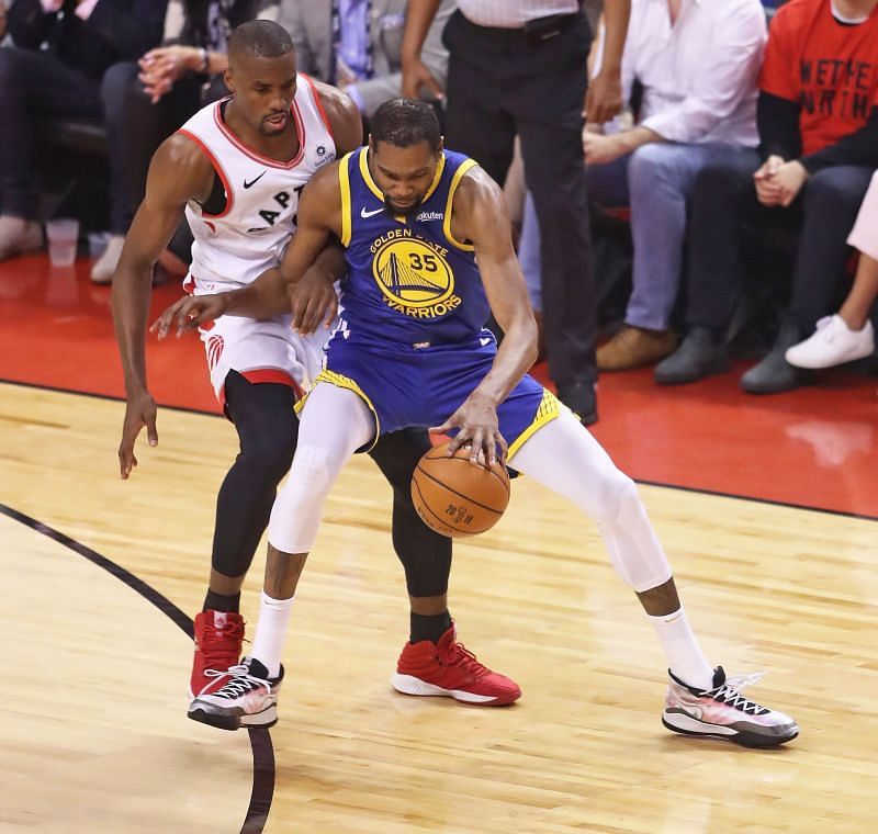 Golden State Warriors vs Toronto Raptors - Game Five