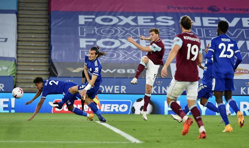Chris Wood scored against Leicester City last week