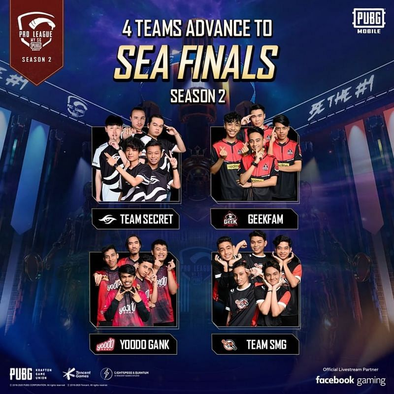 Qualified for PMPL SEA season 2 finals