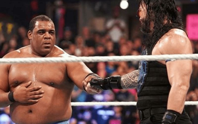 Roman Reigns and Keith Lee faced each other at WWE