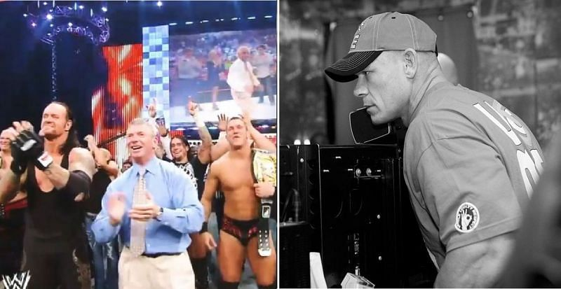 Ric Flair and John Cena have both won 16 World titles