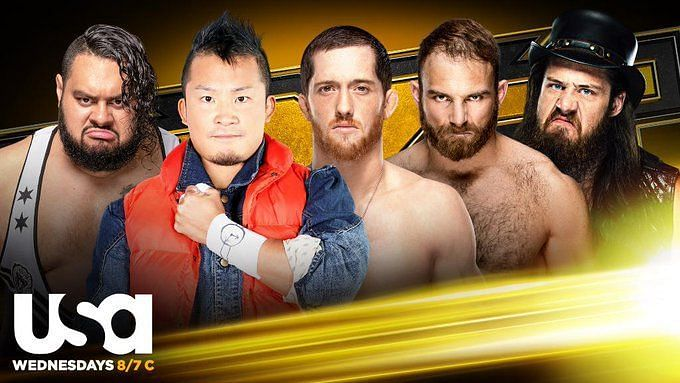 None of the men in the Gauntlet Eliminator have ever held singles gold in NXT
