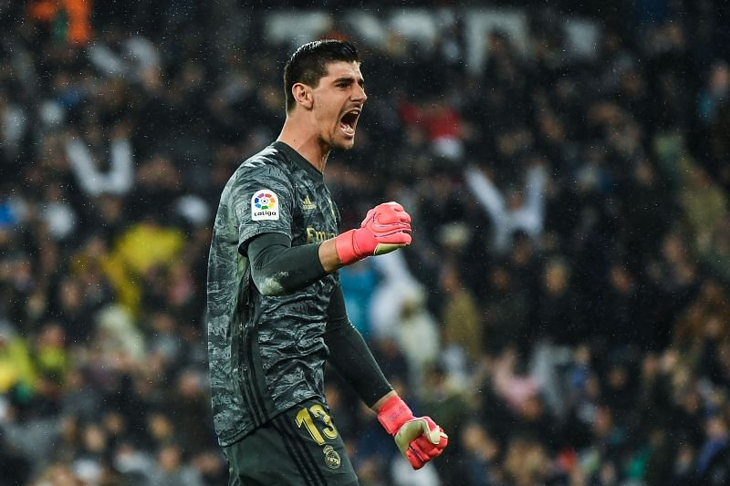 Thibaut Courtois won the Zamora Trophy at the end of 2019-20 La Liga season.