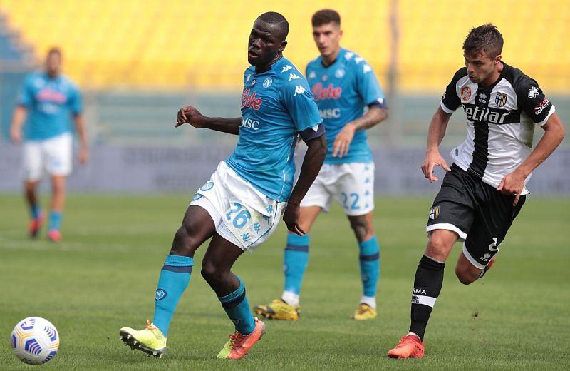 Napoli star Koulibaly in action