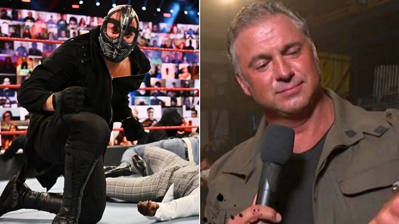 Could Shane McMahon be revealed as the man behind RETRIBUTION?