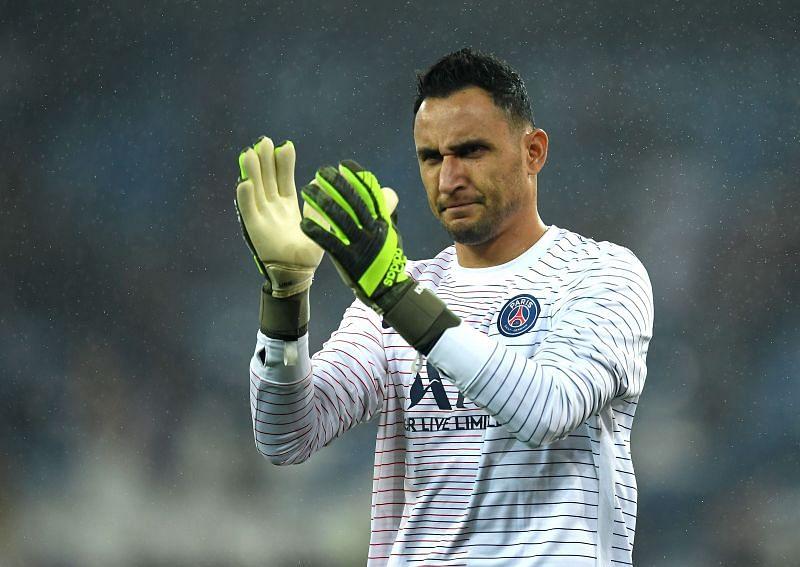 Paris Saint-Germain goalkeeper Keylor Navas was not too busy against Nice