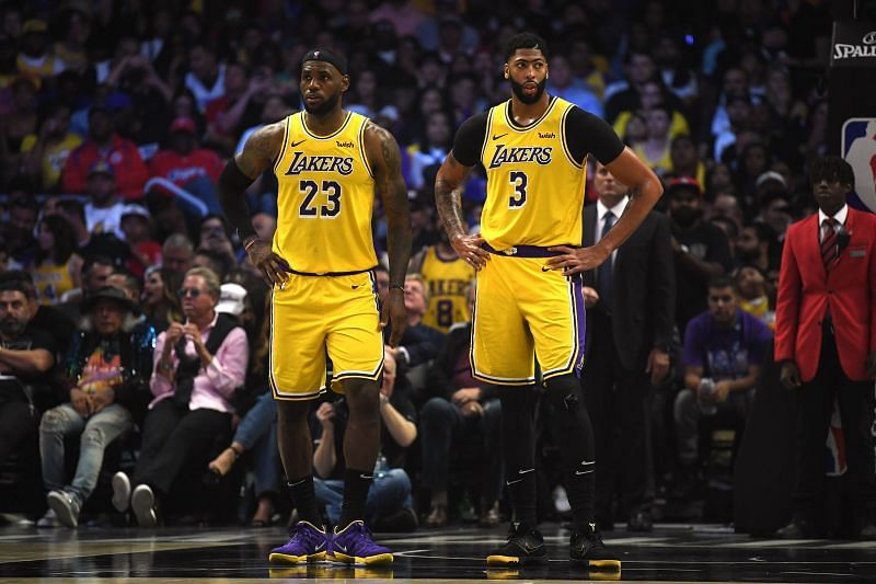 Los Angeles Lakers have a frightening duo in James and Davis