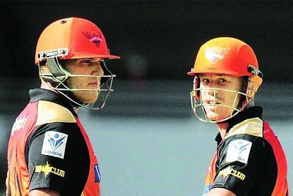 Aaron Finch and David Warner are two of the leading run-scorers for SRH in the UAE.
