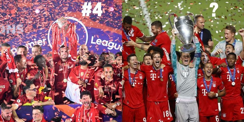 Liverpool and Bayern Munich tasted a lot of success in the 2019-20 season