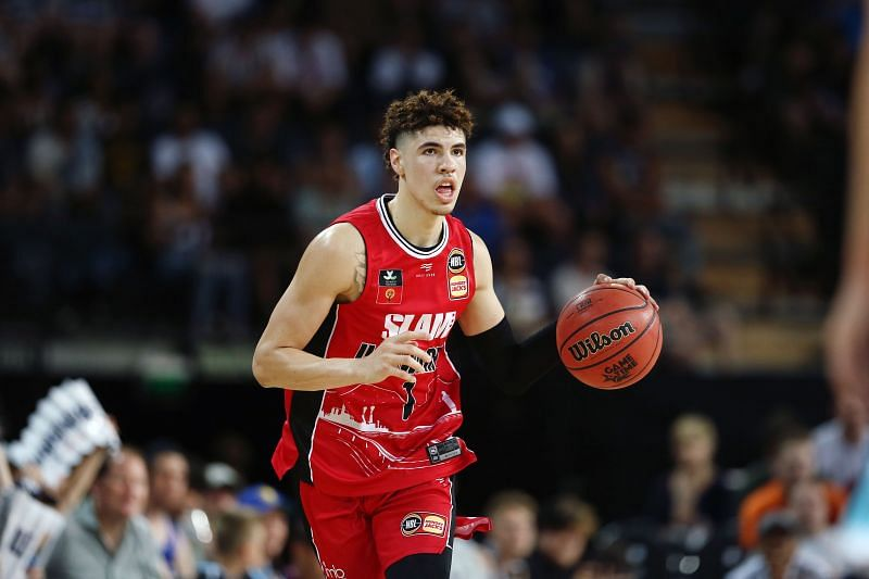 LaMelo Ball is projected to be drafted top 3.