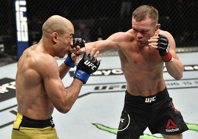 Petr Yan faced Jose Aldo at UFC 251