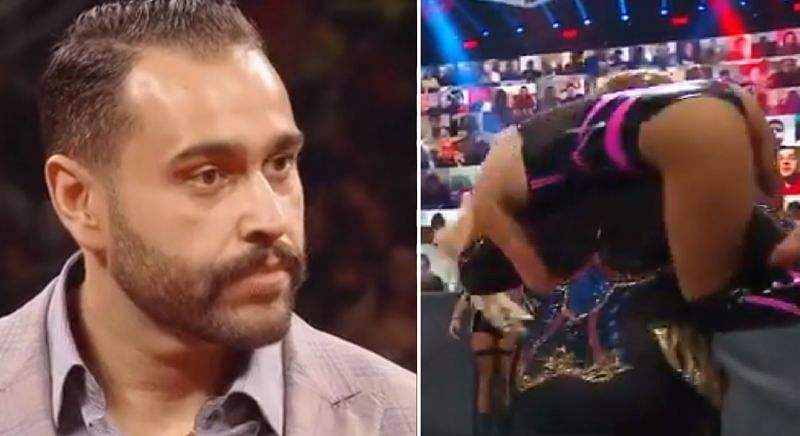 Rusev reacts to Lana