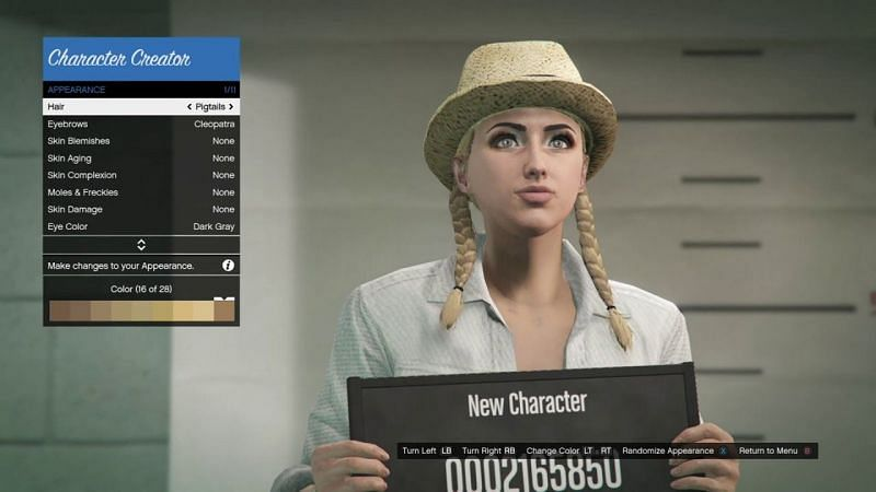 Creating a good-looking female character in GTA Online is almost impossible (Image Credits: 1 More Match, YouTube)
