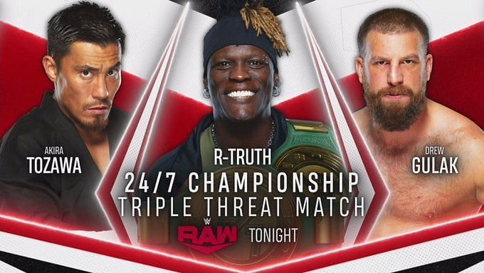 Tozawa is alive and back in the hunt for the 24/7 Championship