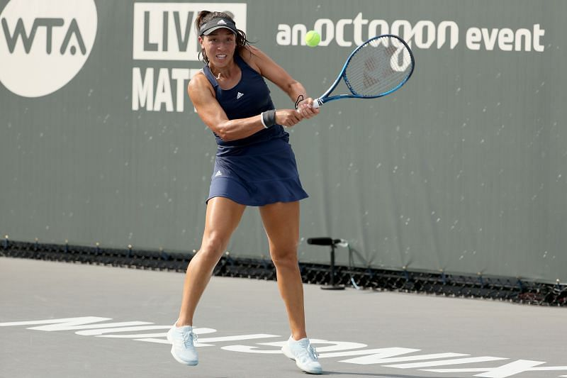 Jessica Pegula at the 2020 Top Seed Open