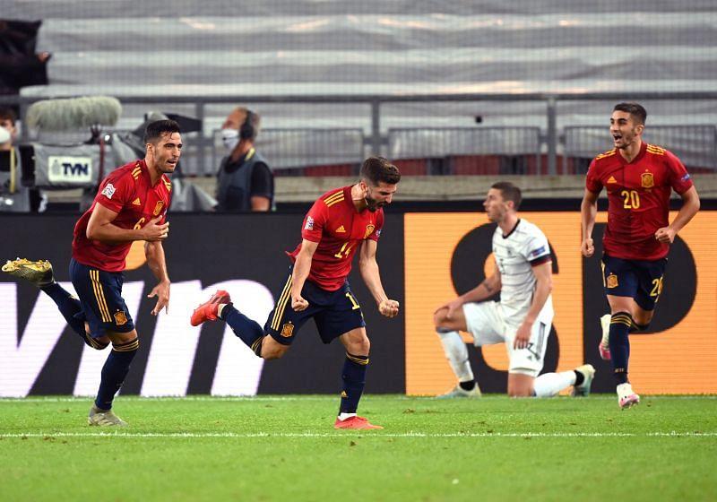 Germany 1-1 Spain: Player Ratings as last-gasp Jose Gaya ...