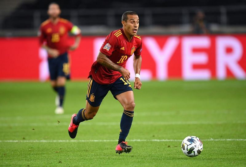 Thiago was excellent for Spain