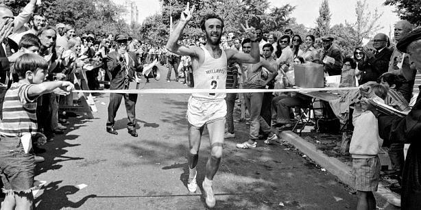 Gary Muhrcke won the first-ever New York Marathon.