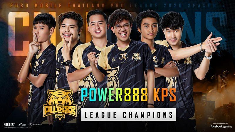 POWER888, the PMPL Season 2 Thailand regular season champions