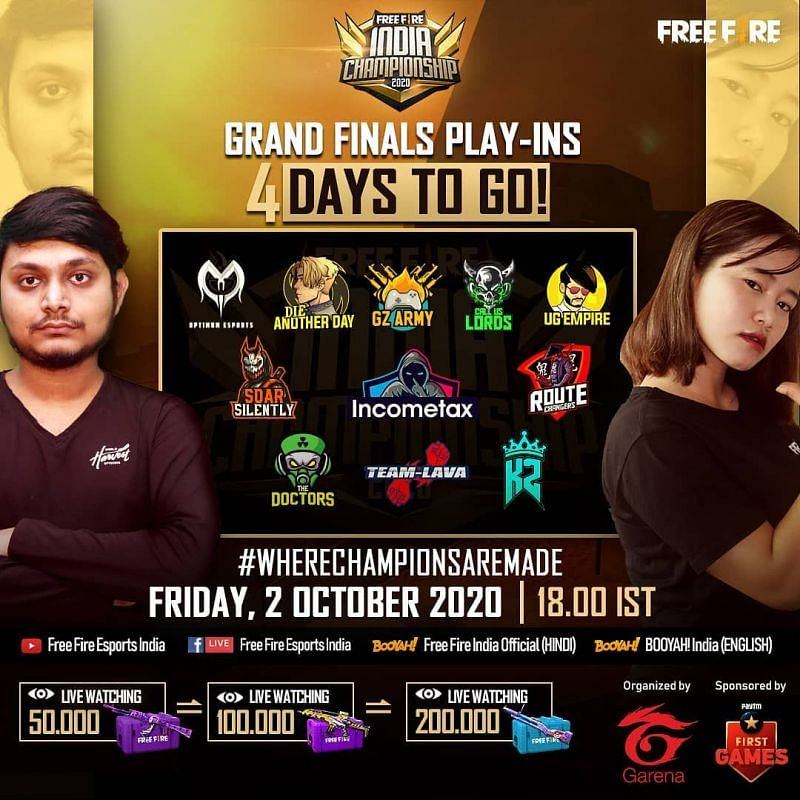 Free Fire India Championship 2020