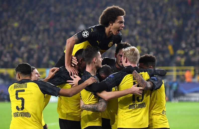 Borussia Dortmund finished second in the Bundesliga