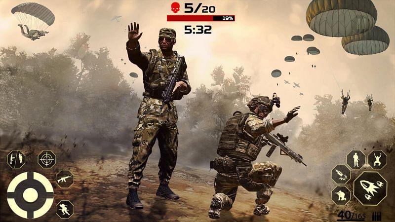 Battleground Fire Game: Fire Free Gun Game 2020. Image Credits: APKPure.com.